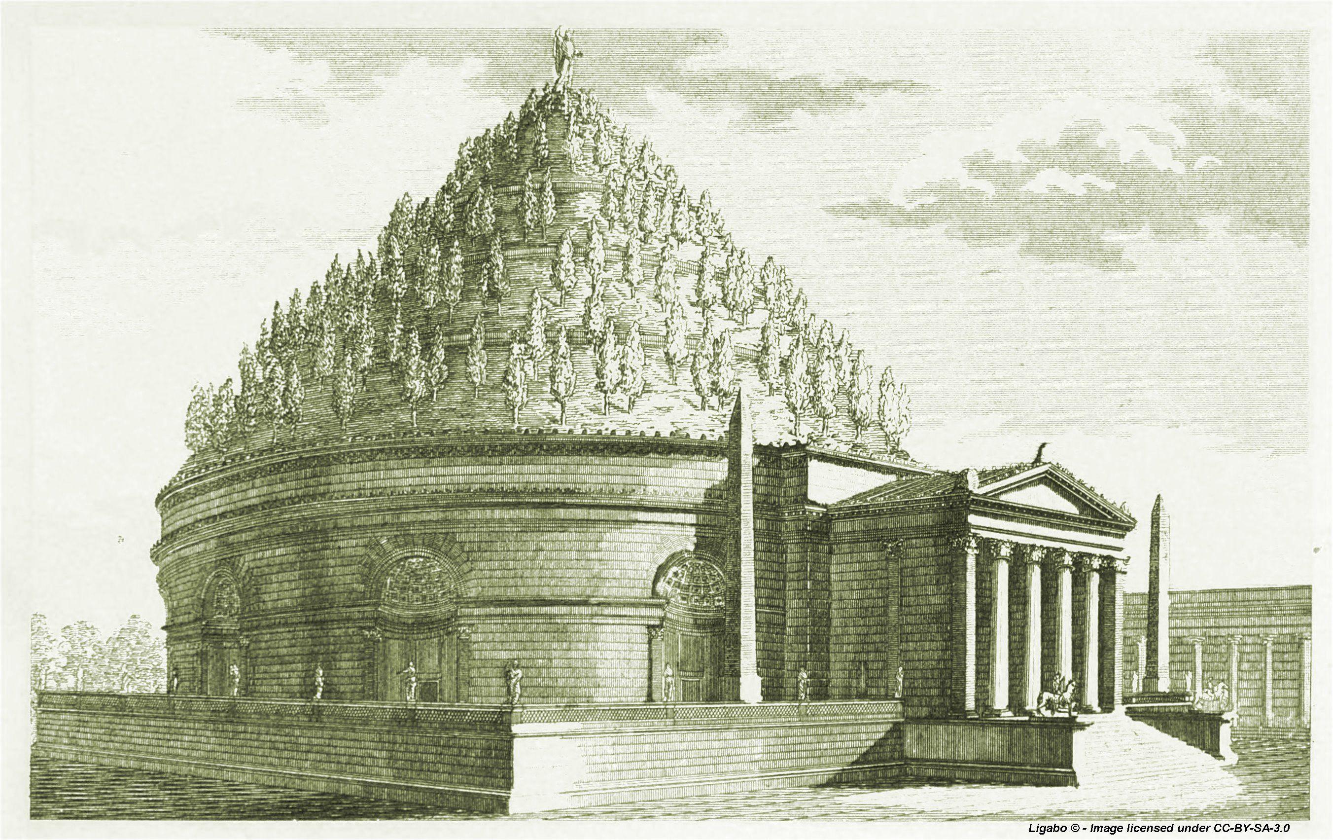Mausoleo di Augusto - ipotesi ricostruttiva