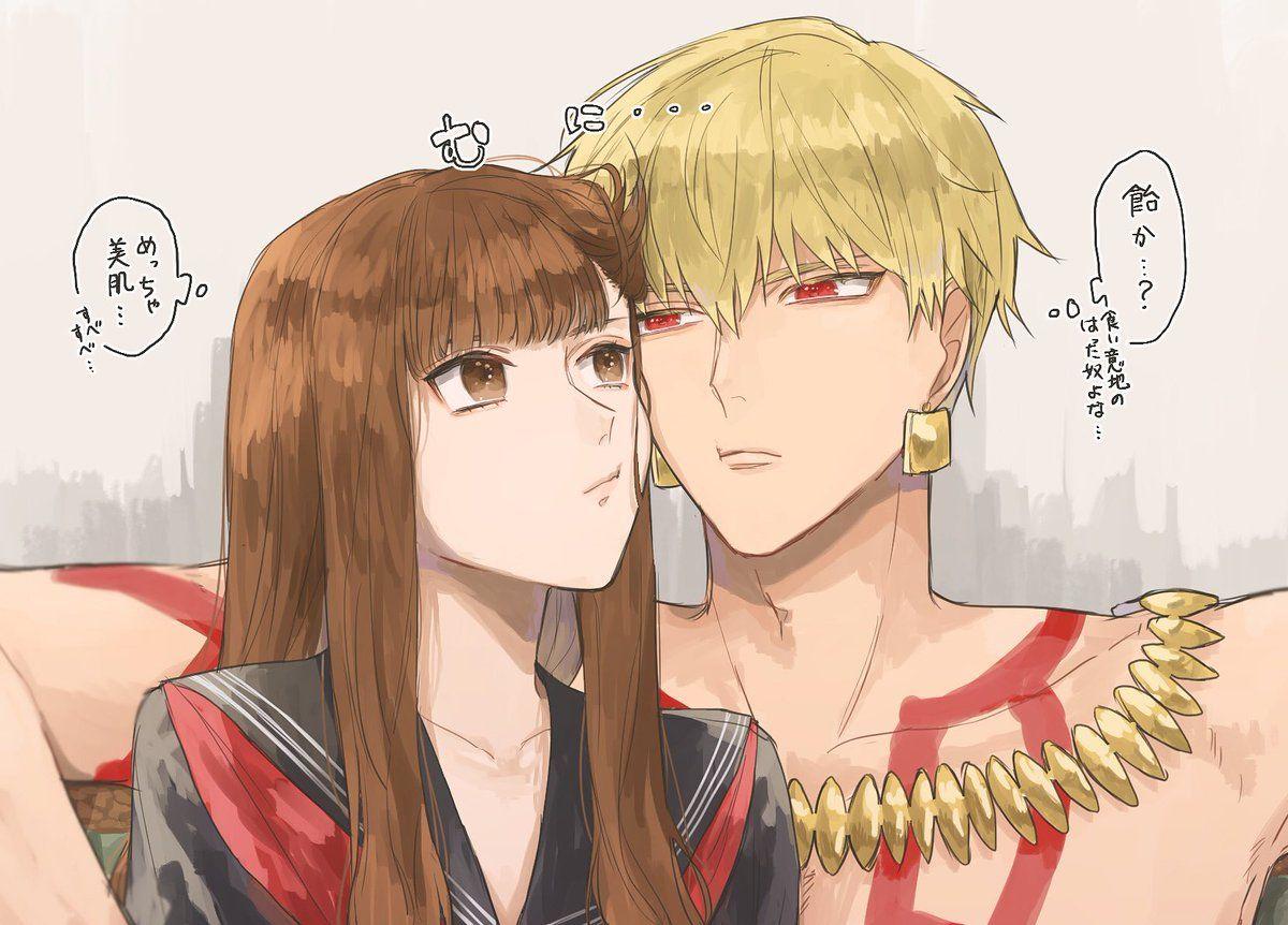 Female Hakuno / Gilgamesh【Fate/EXTRA】 Fate stay night