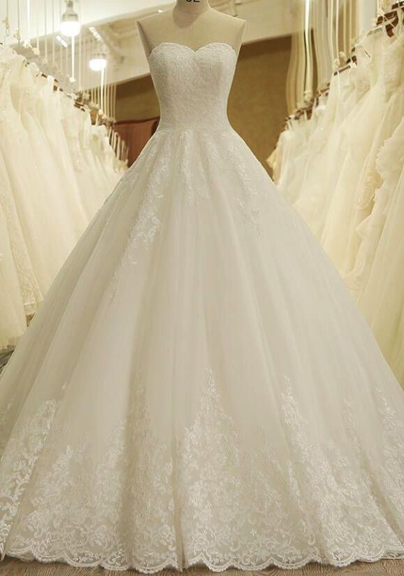 db7326f28d New Arrival White Lace Princess Wedding Dresse Ball Gowns Women Wedding  Gowns  weddings  weddingdress  white  bridal  weddinggown  bridalgown   weddingideas