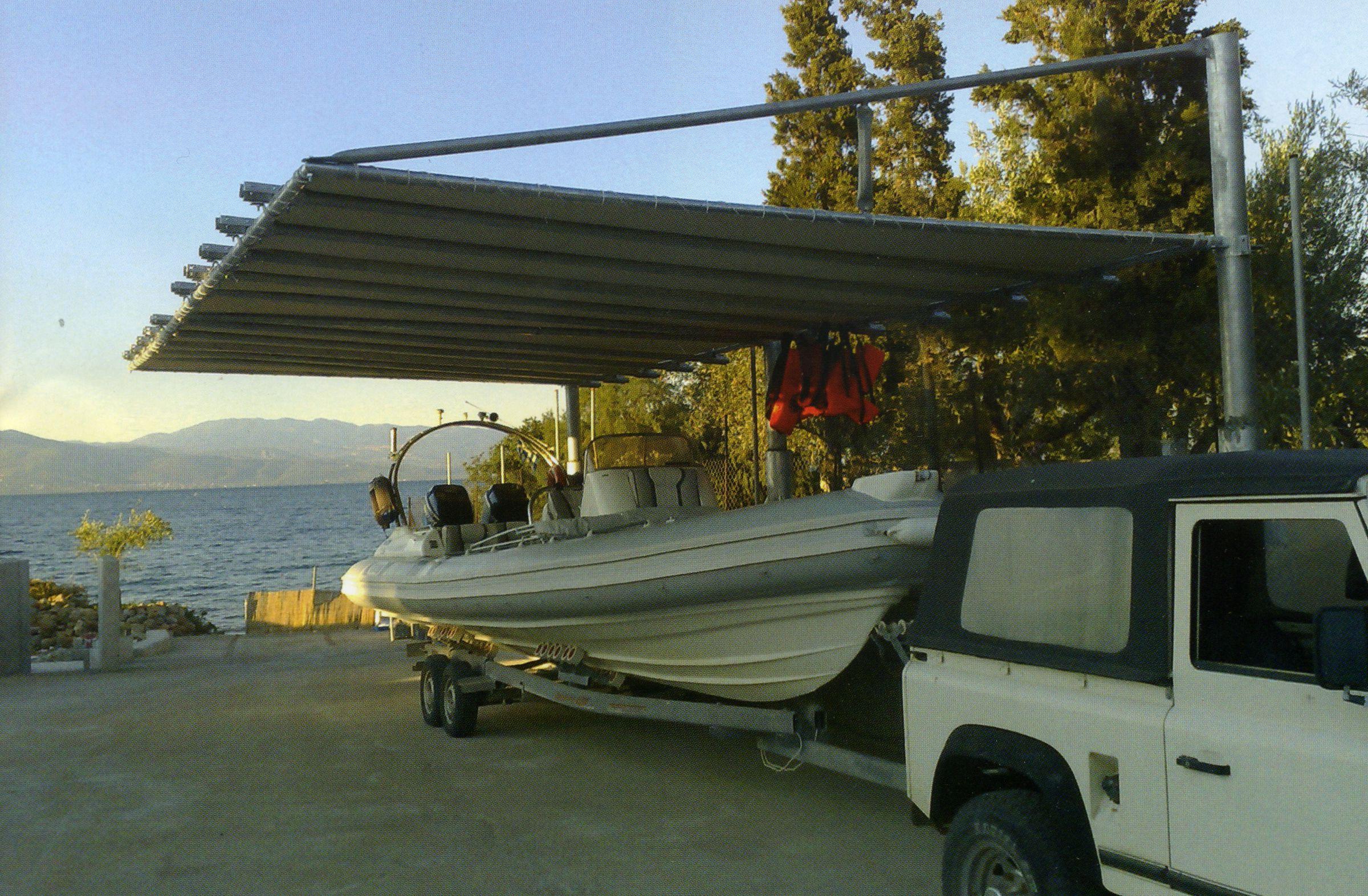 Carport Uberdachung Fur Boote Und Mehr Preis Auf Anfrage Carport Uberdachung Boot Speedboot Wohnmobil Sonnenschut Carport Uberdachung Carports Carport
