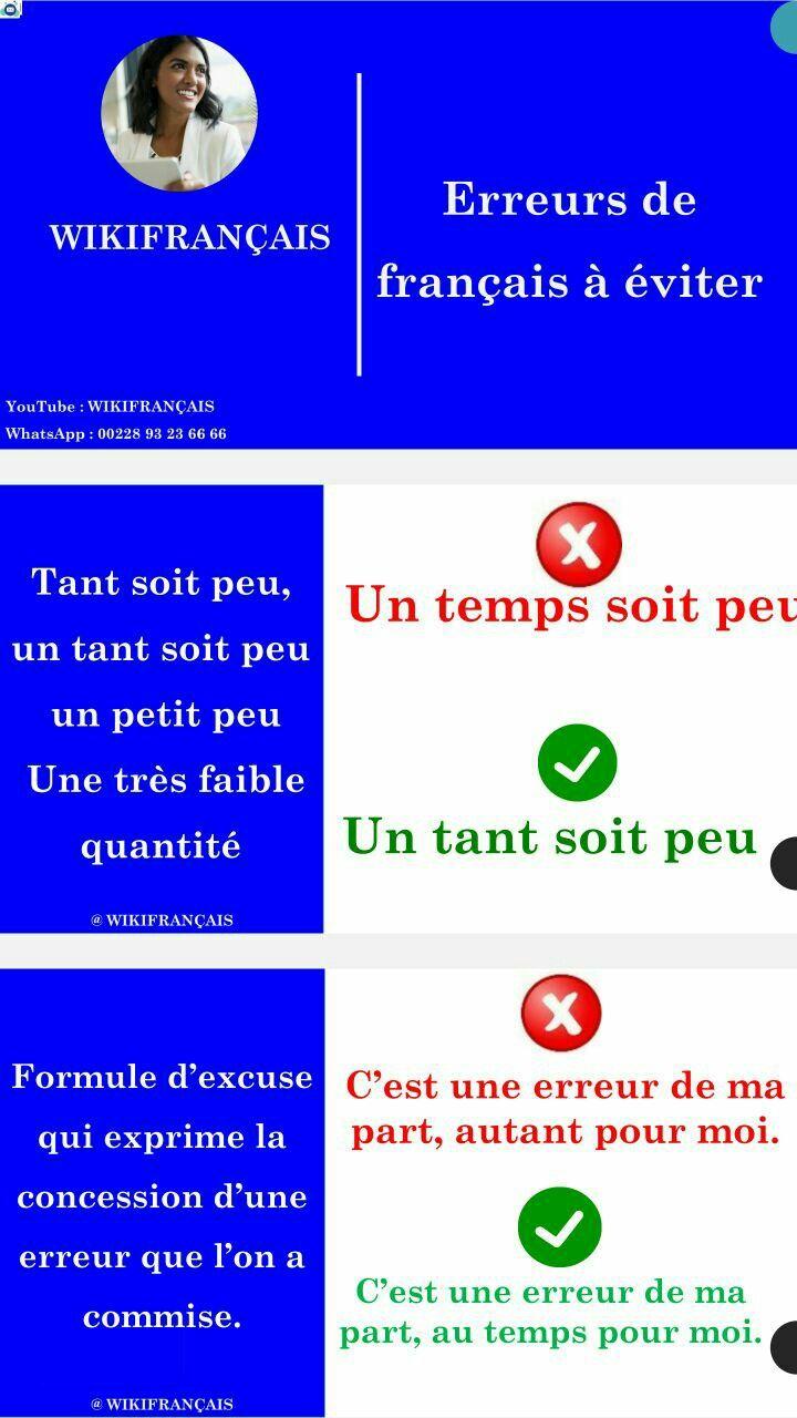 Un Temps Soit Peu Ou Un Tant Soit Peu : temps, Profil, Wikifrançais, (wikifranais), Pinterest