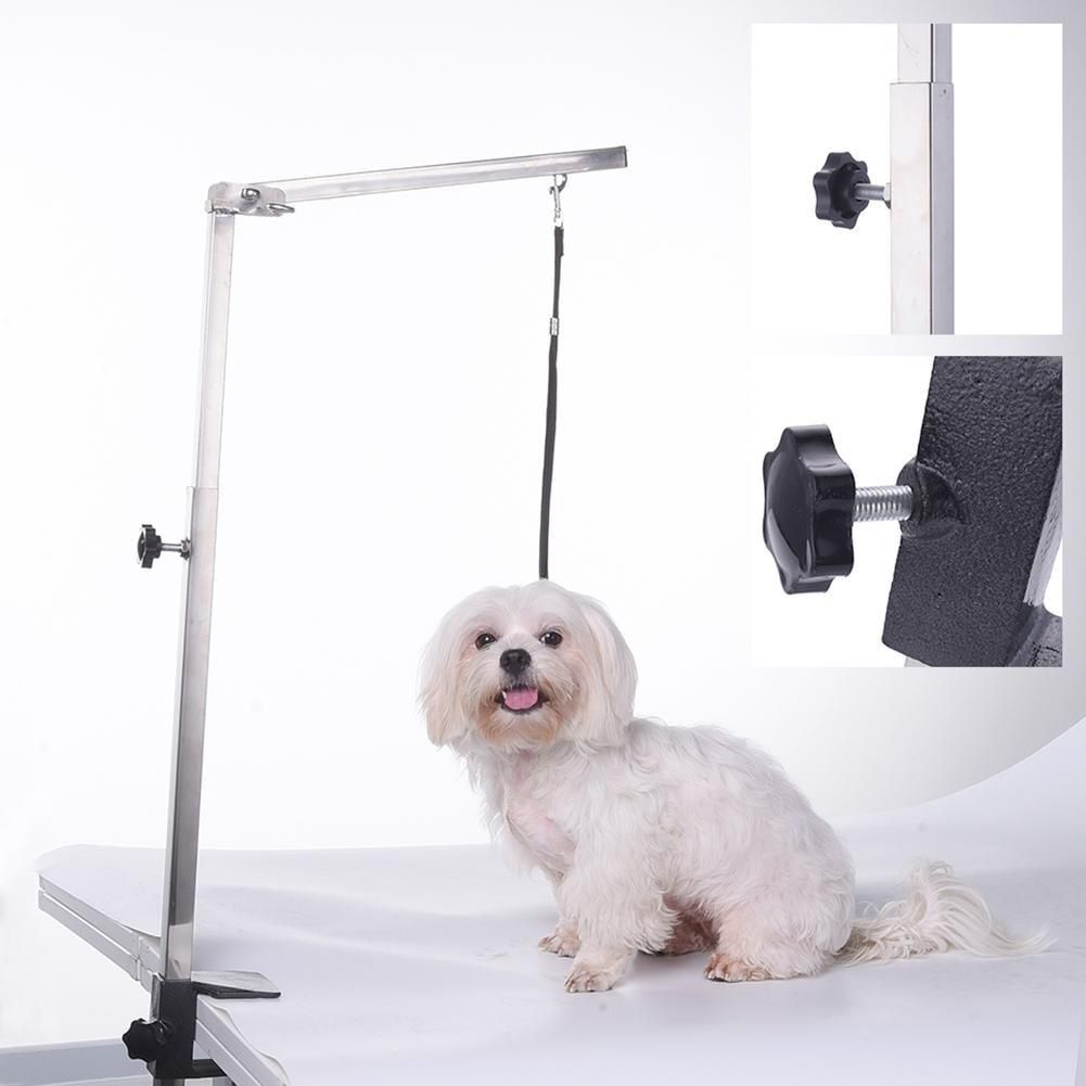 Pet Cleaning Products Stainless Steel Suspender Bracket Of Folding