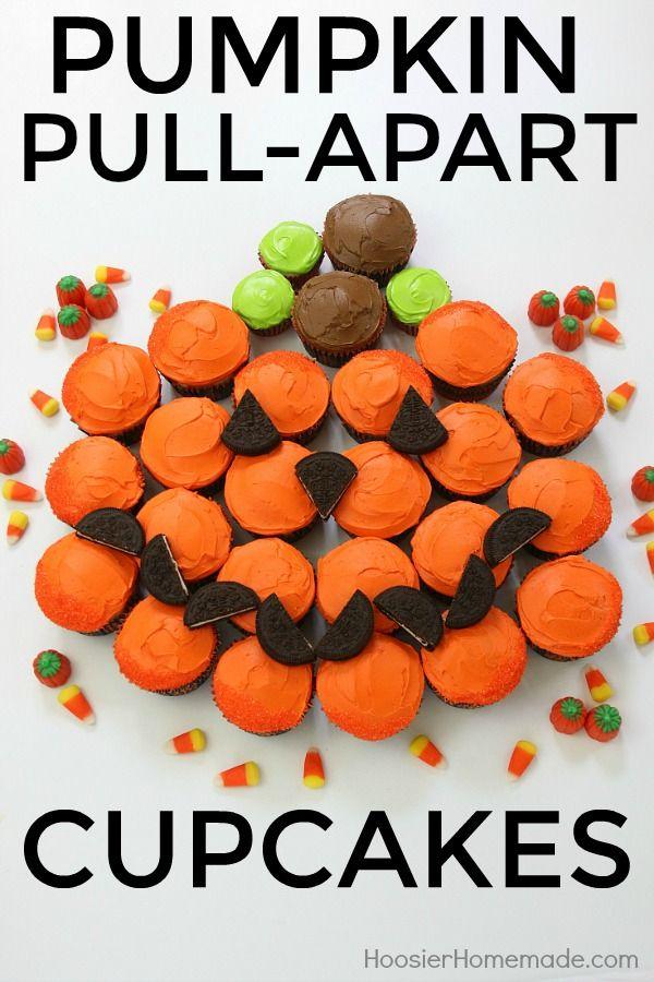 fun and easy halloween cupcakes