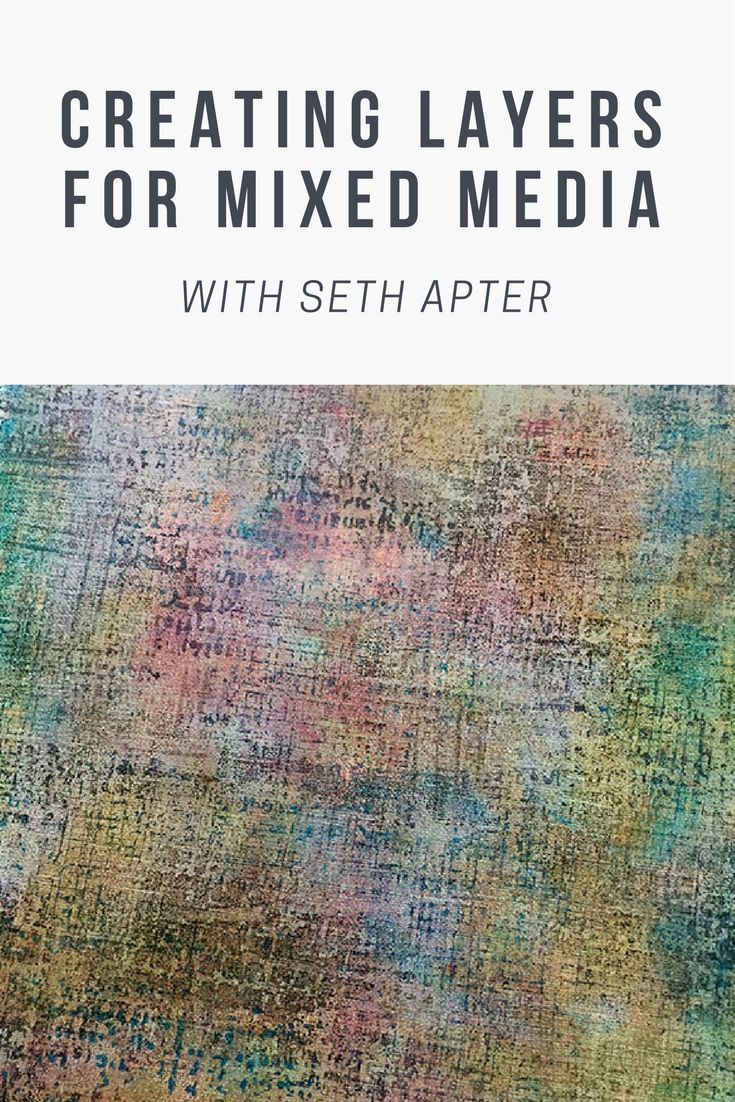 Creating Layers for Mixed Media with Seth Apter #artjournalmixedmediainspiration