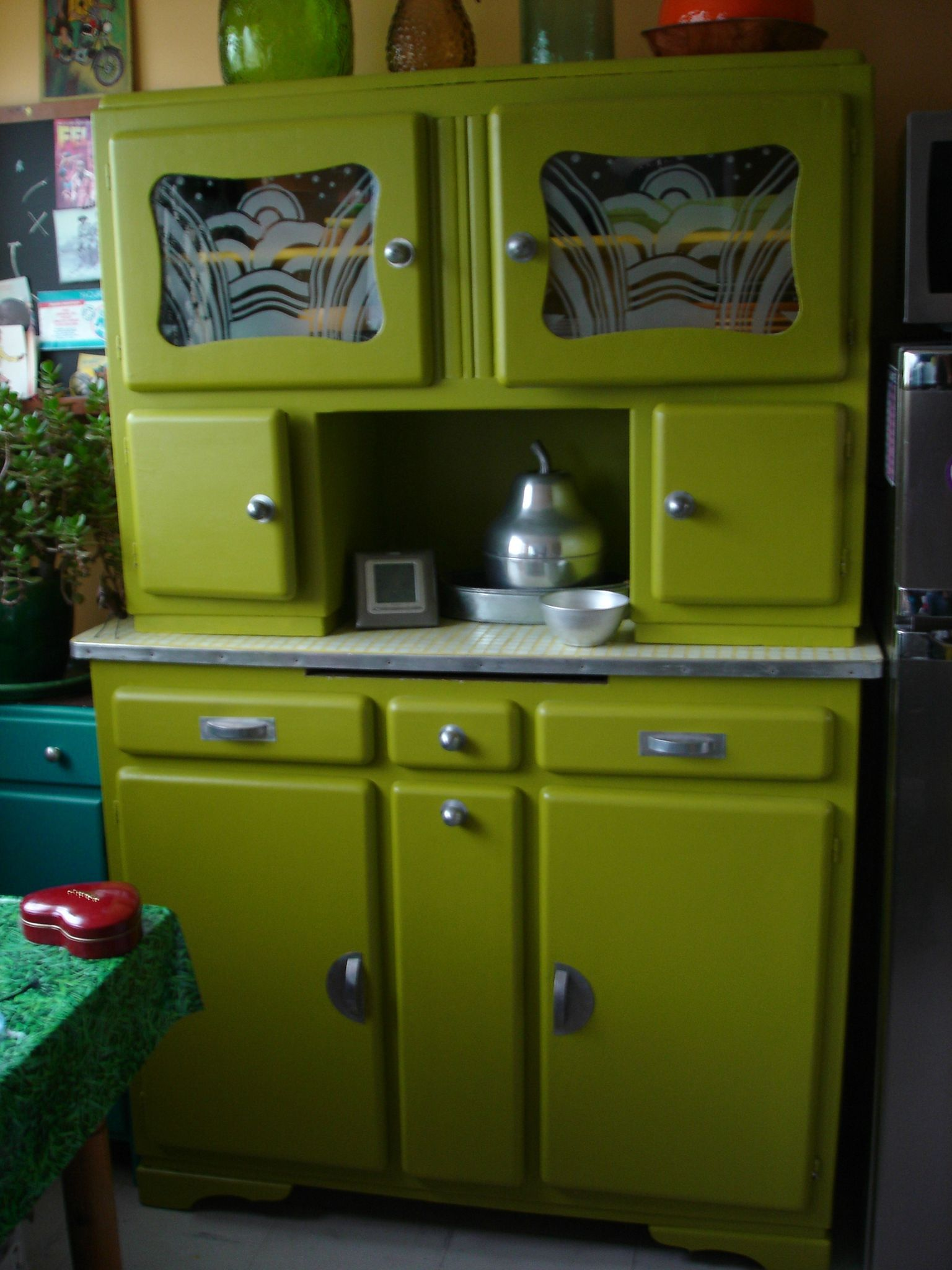 buffet mado vert | HOME | Pinterest | Buffet, Cupboard and Buffet ...