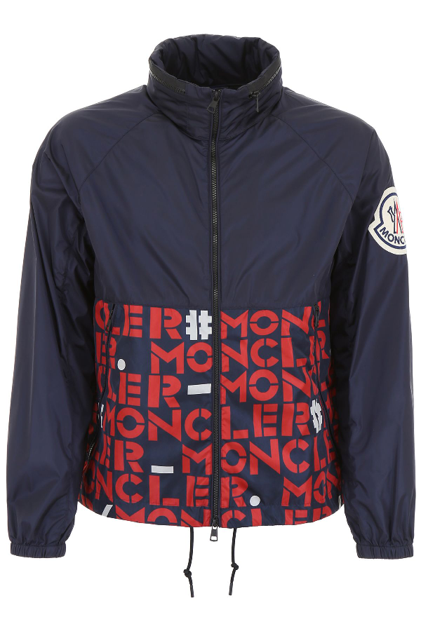 Shop Moncler Genius 2 Jacket In Blue from 300+ stores
