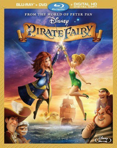 Disney The Pirate Fairy Blu Ray Dvd Digital Hd Children Family