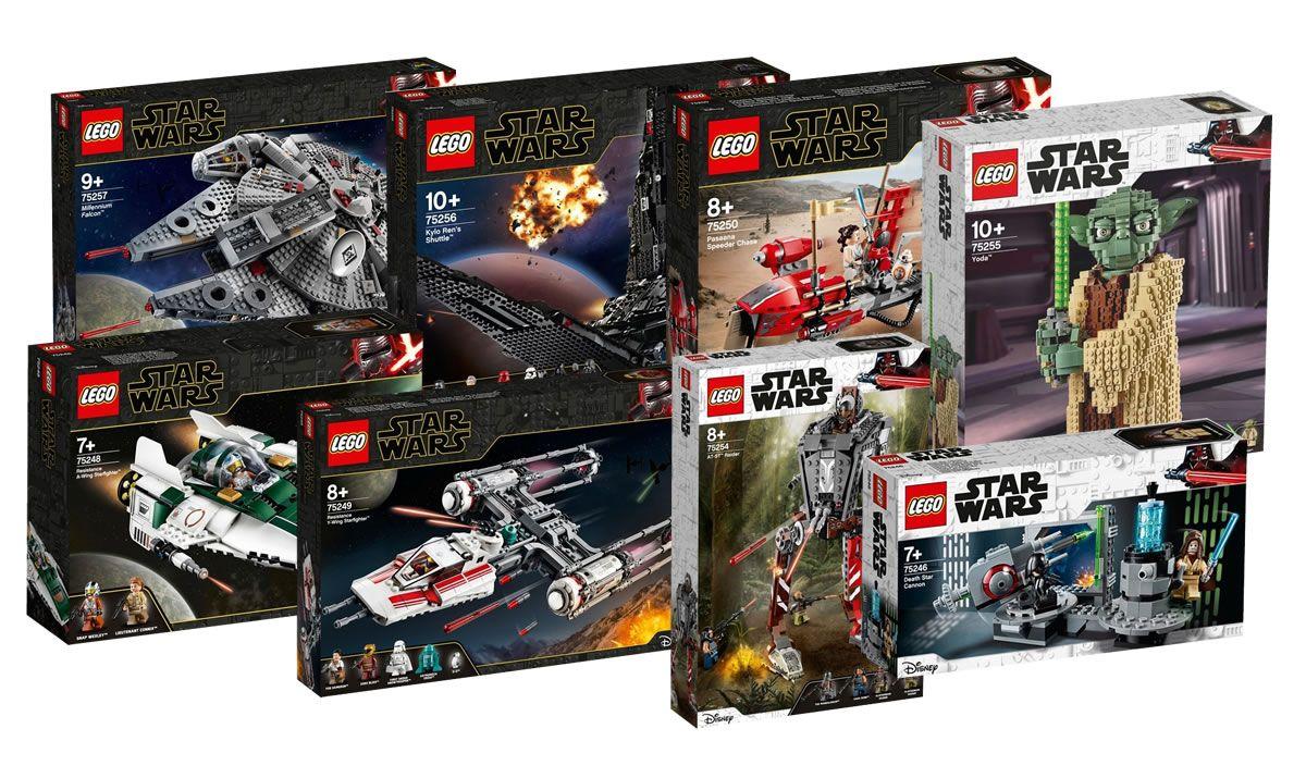 Nouveautés LEGO Star Wars du Triple Force Friday 2019