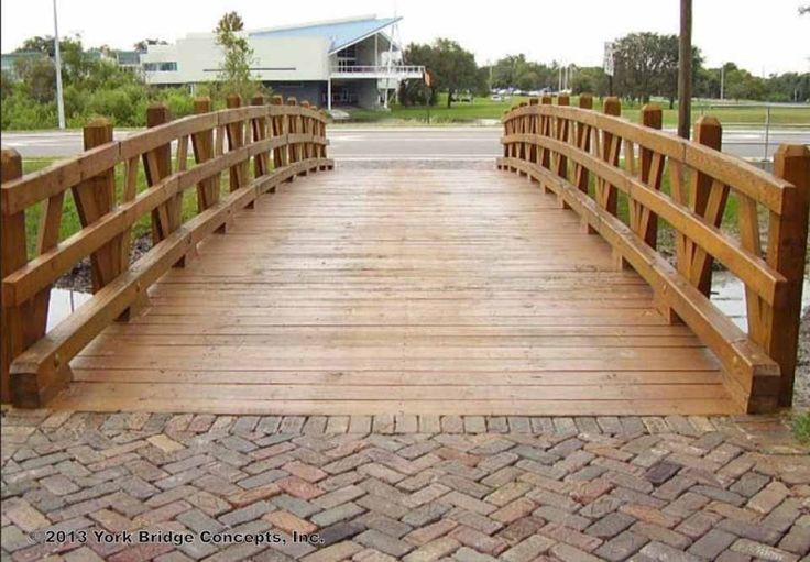 Bridge From Driveway To House Building Residential Bridges Vehicular