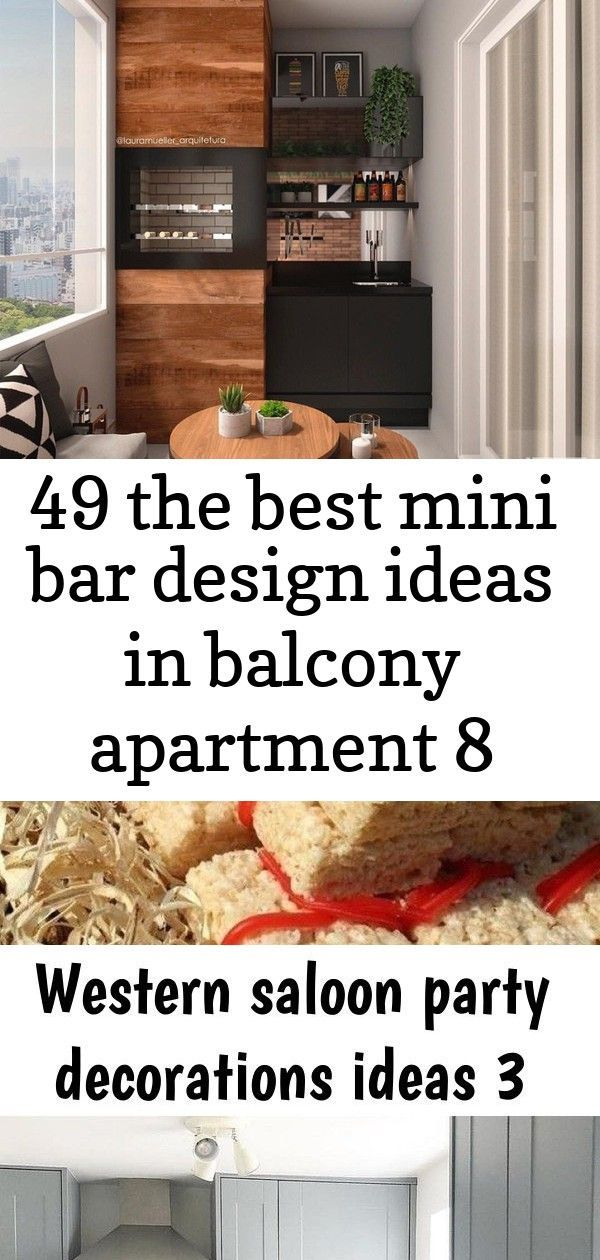 49 the best mini bar design ideas in balcony apartment 8 #apartment #balcony #bar #design #ideas #mini #balconybar