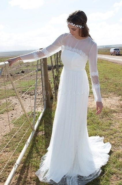 Zues wedding dress | Sleeved wedding dresses | Pinterest