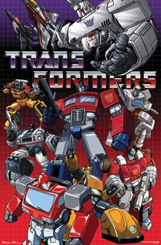 Transformers Generation 1 Cartoon Characters : Transformers ♦ movies shows