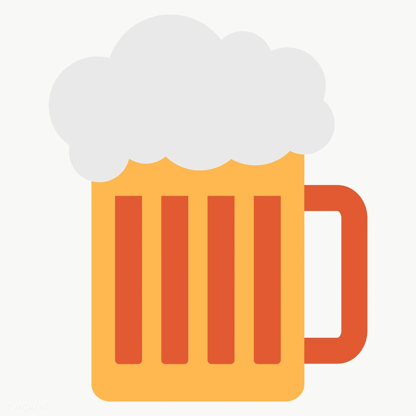 Beer Glass Design Element Transparent Png Free Image By Rawpixel Com Chayanit Beer Glass Design Beer Glass Beer Graphic