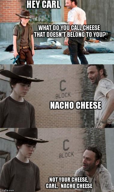 coral coral 17 of the best walking dead memes waking