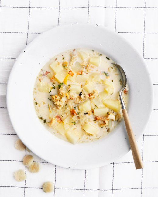 Clam Chowder Recipe Clam Chowder Chowder Soups Stews