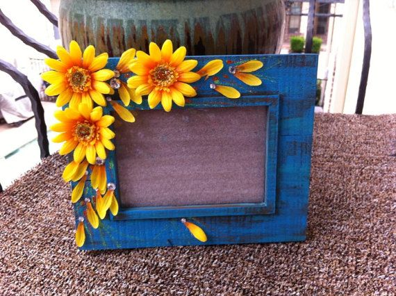 14++ Sunflower picture frame craft inspirations