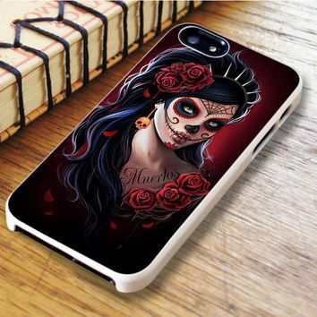Day Of The Dead Skull Floral iPhone 6 | iPhone 6S Case