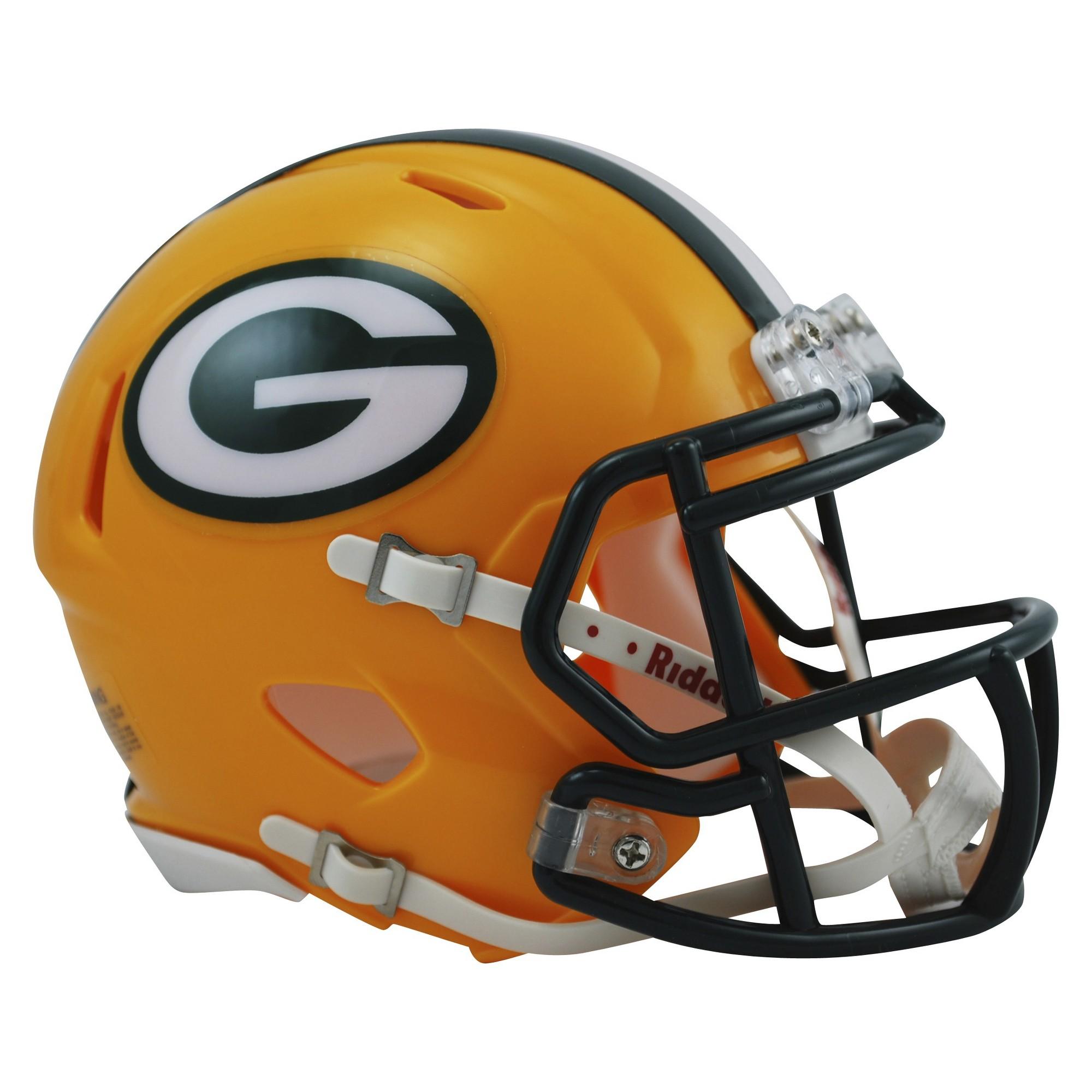 Green Bay Packers Riddell Speed Mini Helmet Gold Mini Football Helmet Football Helmets Mini Footballs