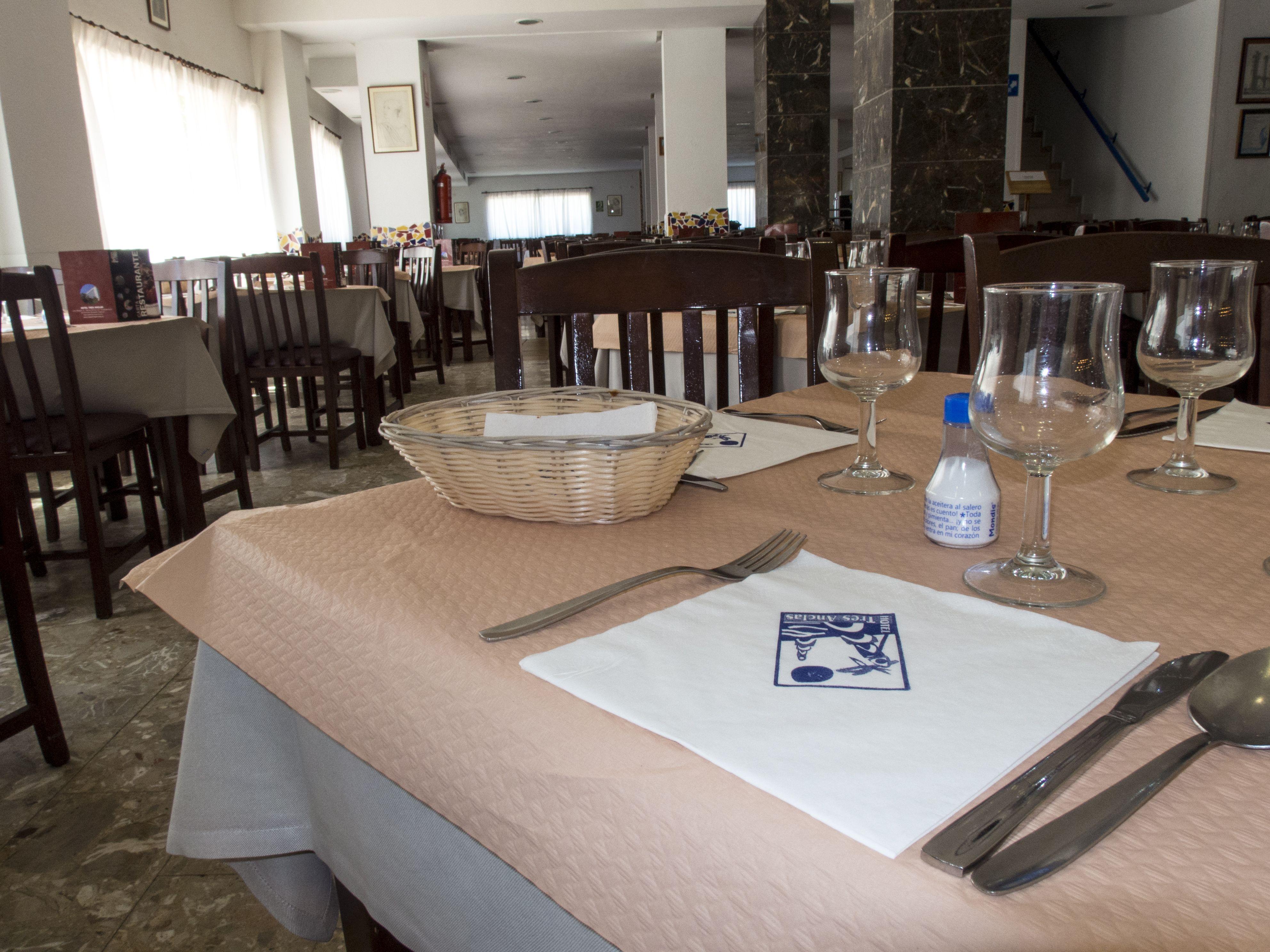 Restaurante Del Hotel Tres Anclas De La Playa De Gandia Hotel