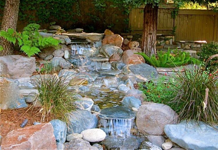 bachlauf im steingarten – godsriddle, Garten und erstellen