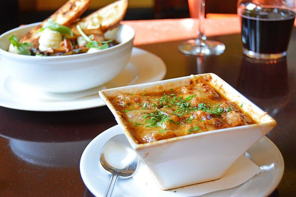 Pin By The Chef In The Hat Restaurant On Luc Restaurant French Cuisine French Onion Soup Cuisine
