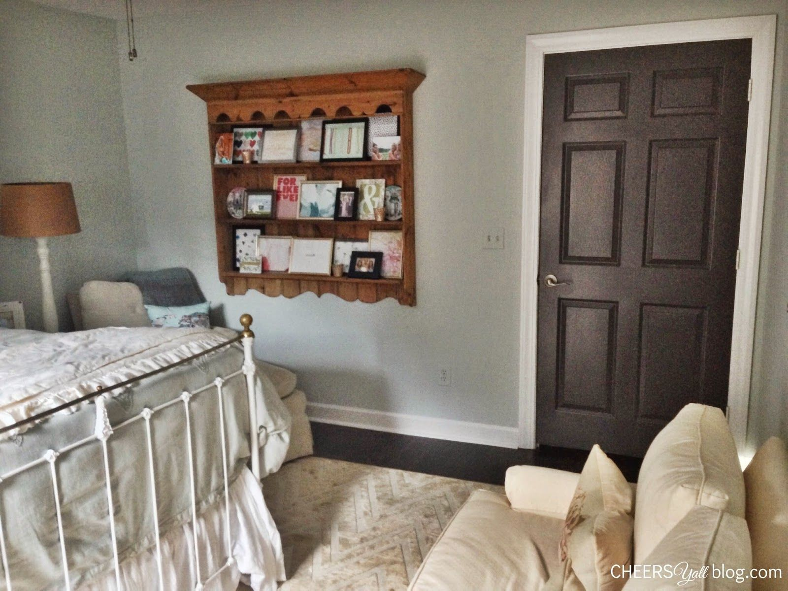 Best Home Tour Guest Bedroom Seaside Neutrals Sherwin 640 x 480