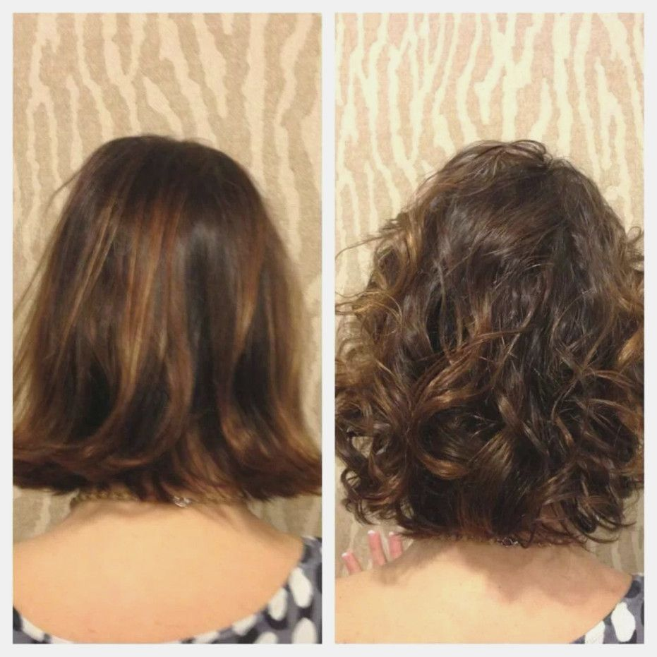 Stacked Spiral Perm On Short Hair Google Search Short Permed Hair Wave Perm Short Hair Permed Hairstyles