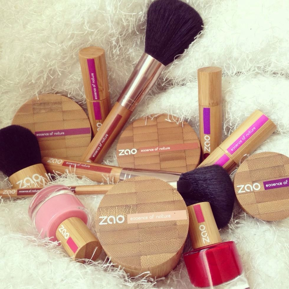 Zao Makeup Totally allnatural with reusable, sustainable