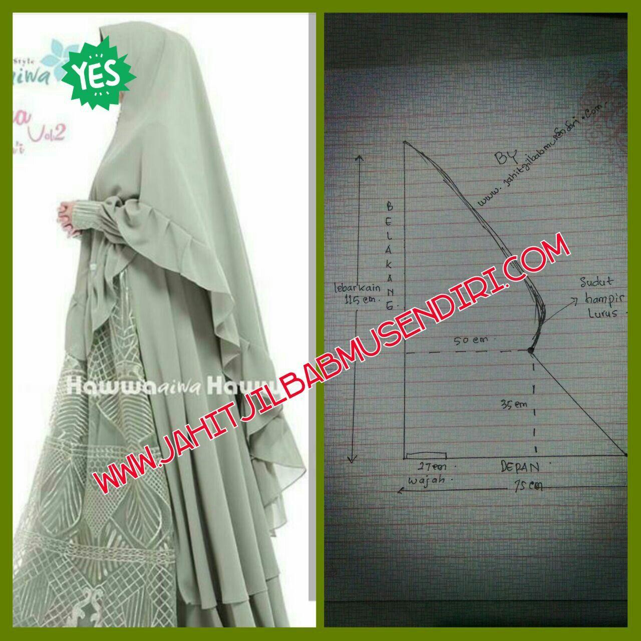 Pola Hijab Pinterest Dress Fashion And Jilbab 3layer Syari Ori Tudung Shawl Turban Instant Patterns