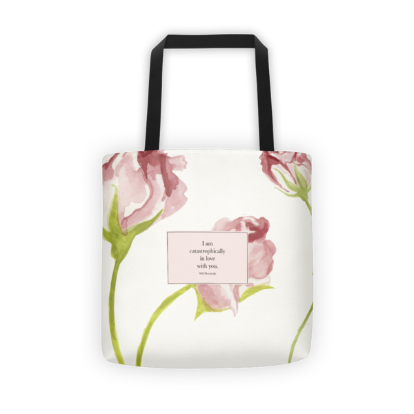 e7bd9273ba2 I am catastrophically... Will Herondale Quote Tote Bag ...