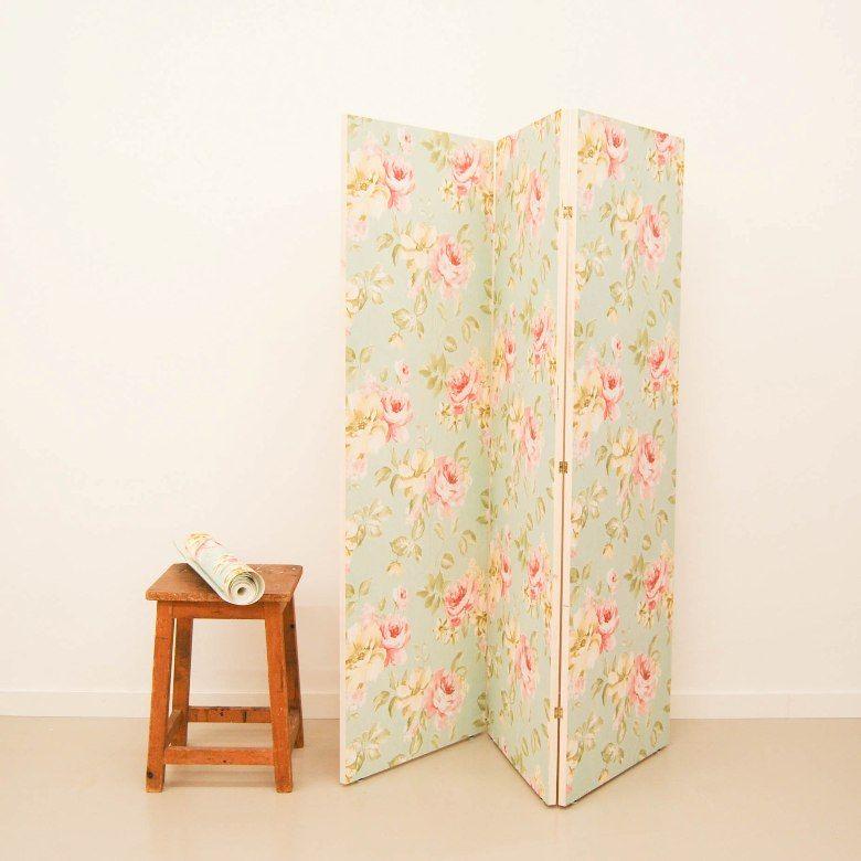 Antic chic decoraci n vintage y eco chic diy c mo - Biombo de carton ...