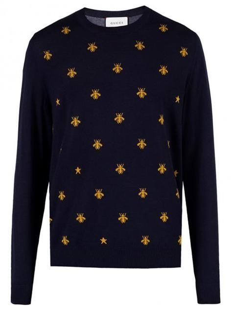 0b640192423 GUCCI bee intarsia jumper.  gucci  cloth  jumper