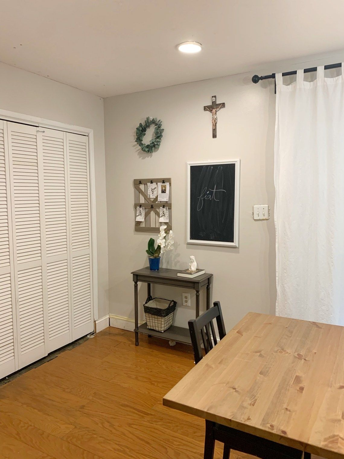 Pin On Home Decor Catholic home decor dining room