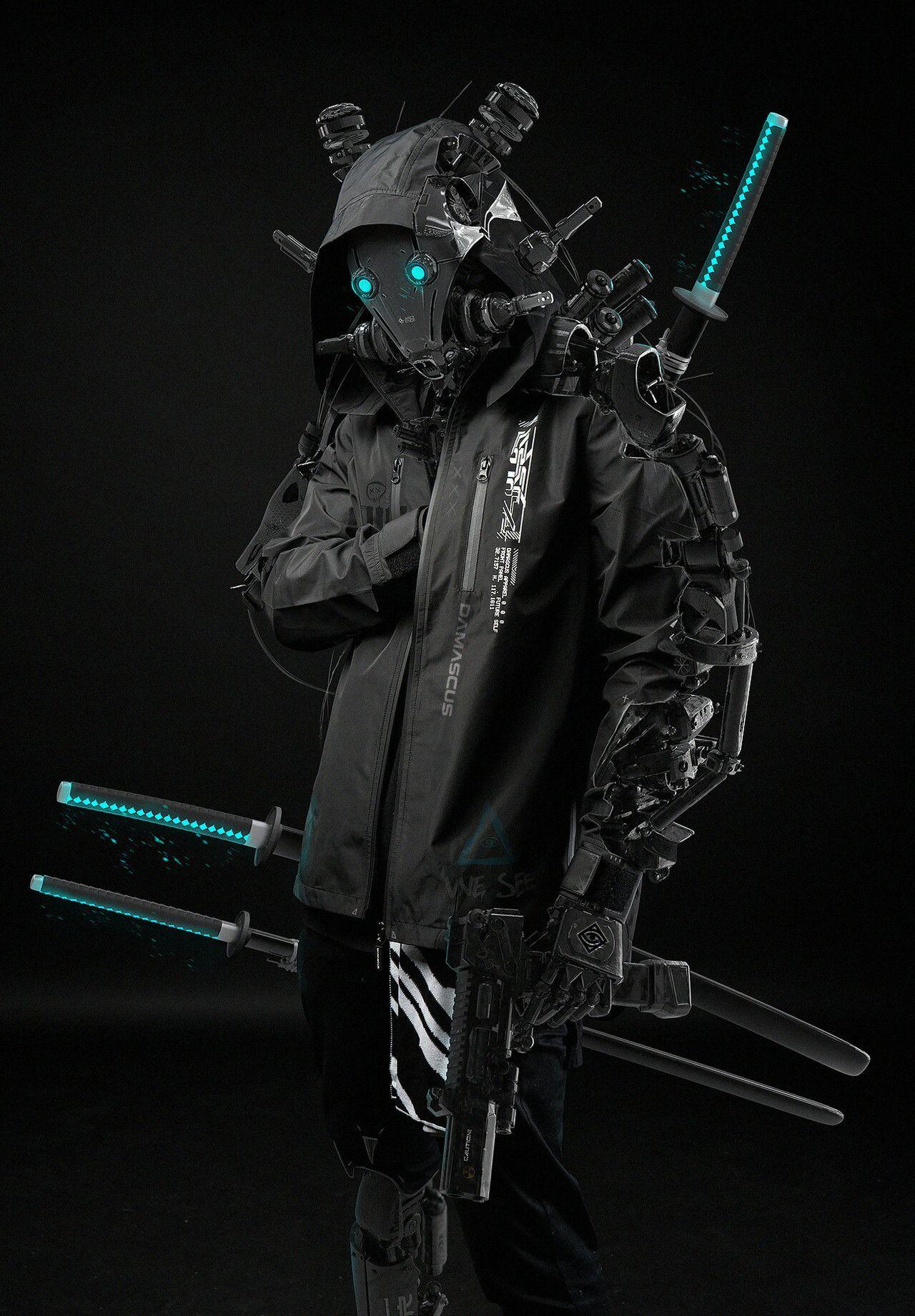 ArtStation - shenandoah phoenix x dmcs + robo ninja, Ahmet Atıl Akar