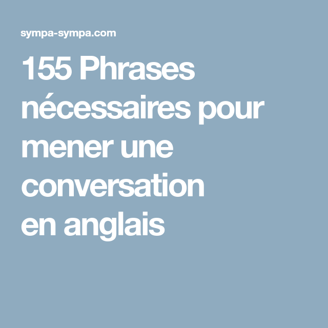 Dialogue d'une rencontre en anglais