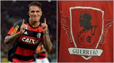 Paolo Guerrero sigue causando furor en los hinchas de Flamengo. July 22, 2015.