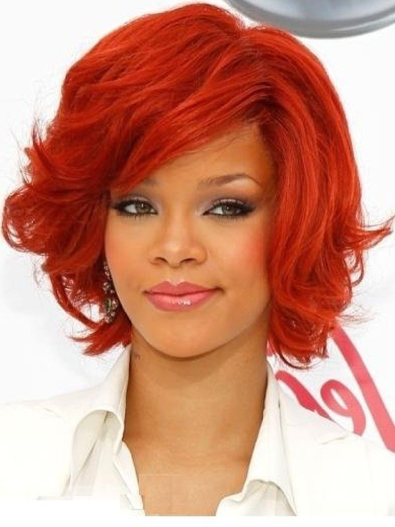 It All Seemed To Start With Rihannas Red This Year Colored Hair Is Not Just