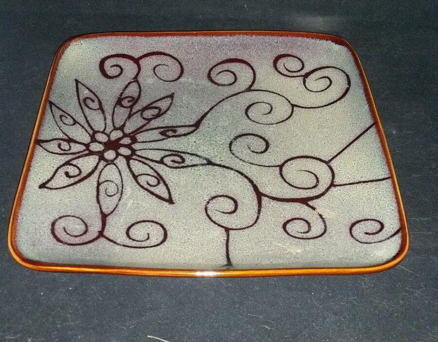 Roscher & Co Olivia Slate Dinner Plate #7890999 square #RoscherCo ...