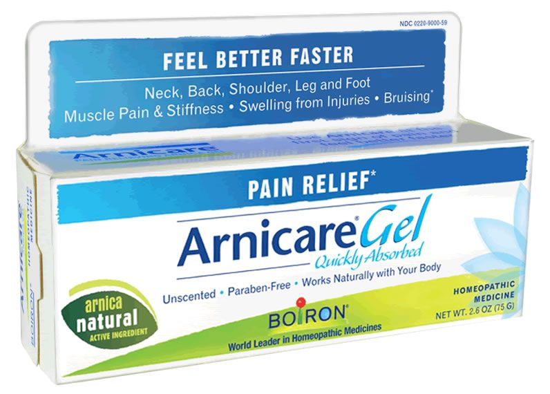 Arnica Gel by Boiron- For fast healling cuts, scrapes
