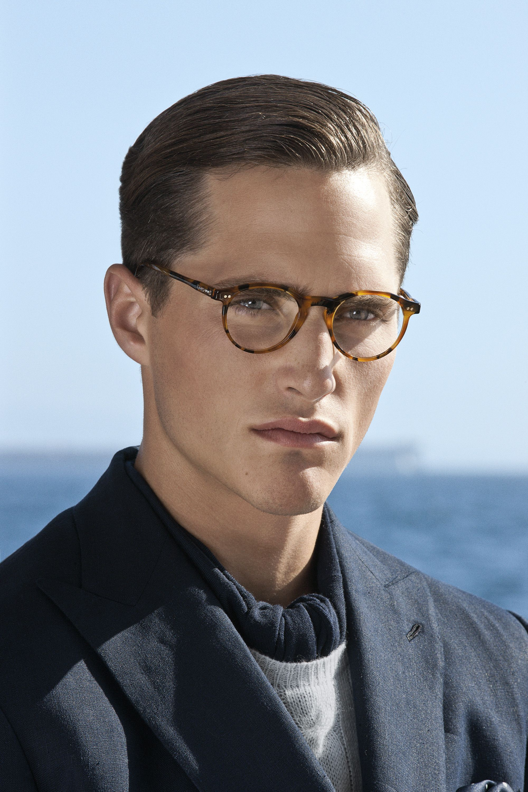 Mens Hairstyles With Glasses Ralph Lauren Purple Label Spring 2012 Eyewear Purple Label