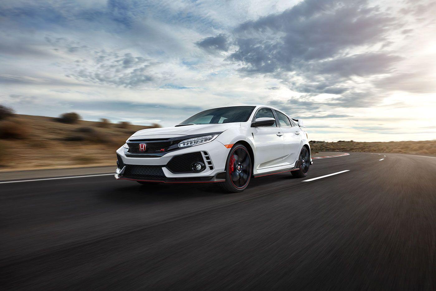 Honda Civic Type R on Behance