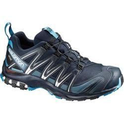 Salomon Herren Schuhe Xa Pro 3D Gtx® Navy B, Größe 43 ? in Blau/Hellblau/Silber, Größe 43 ? in Blau/ #hikingtrails