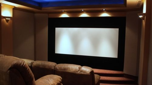 Floating Screen With Images Home Theater Lighting Home Buying