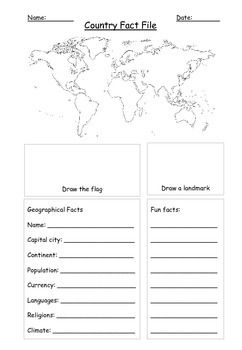 Faq Sheet Template Excel Blank Factfile Worksheet Blank Factfile