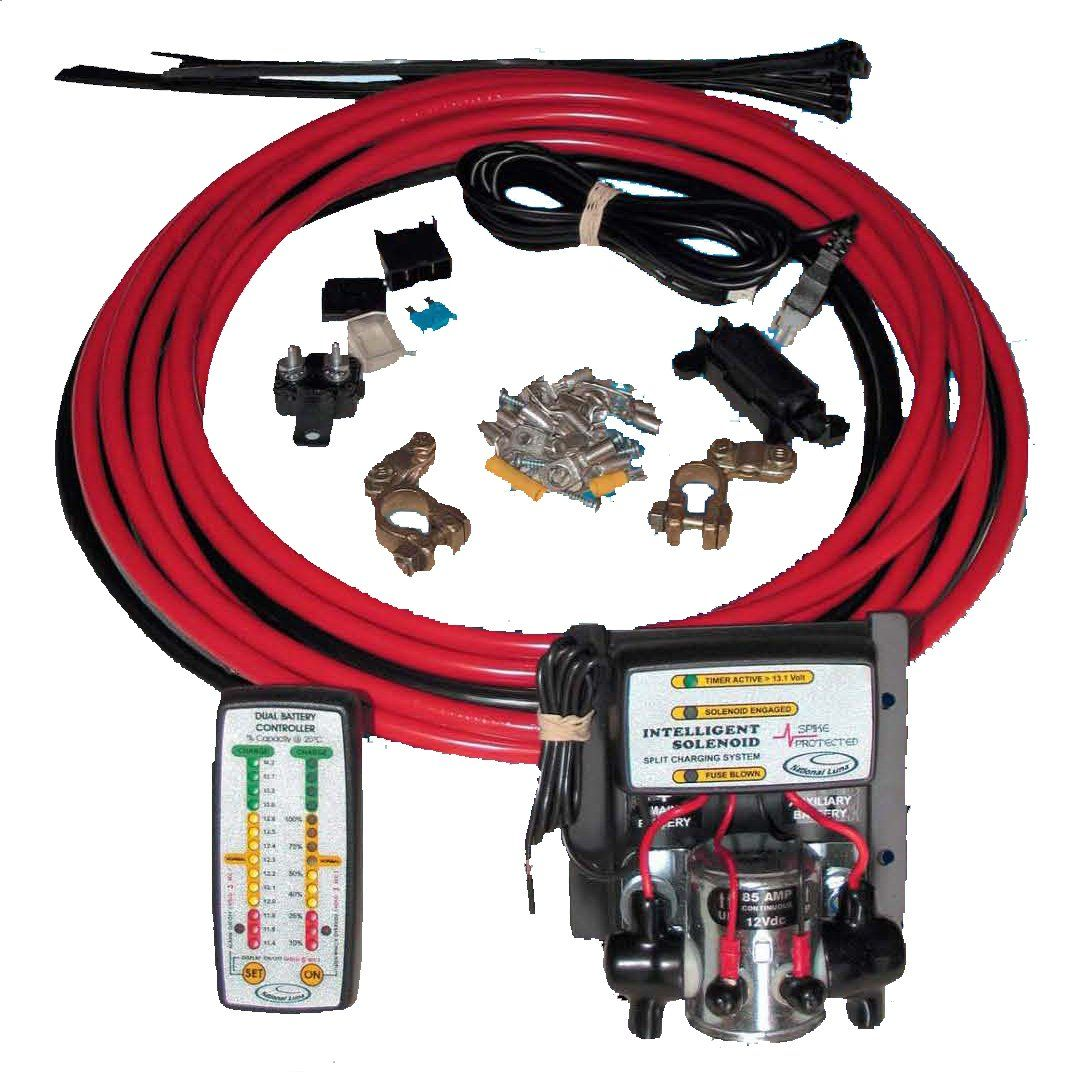 How to wire from winch to solenoid to switch ehow 2016 2016 car - National Luna Dual Battery Kit