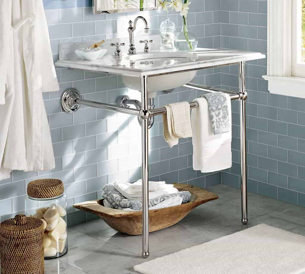 Charming Console Bathroom Sink Console Sink Pottery Barn Bathroom Vanity Bathroom Sink Vanity