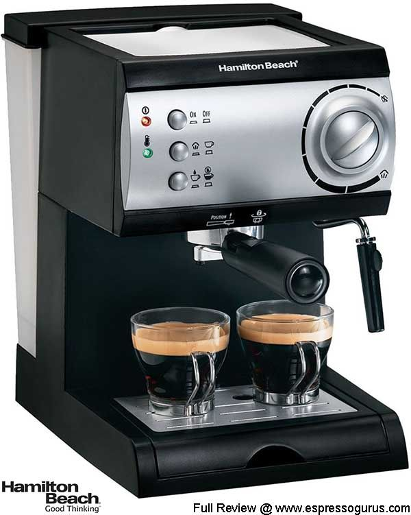 hamilton beach model 40715 espresso maker review | espresso