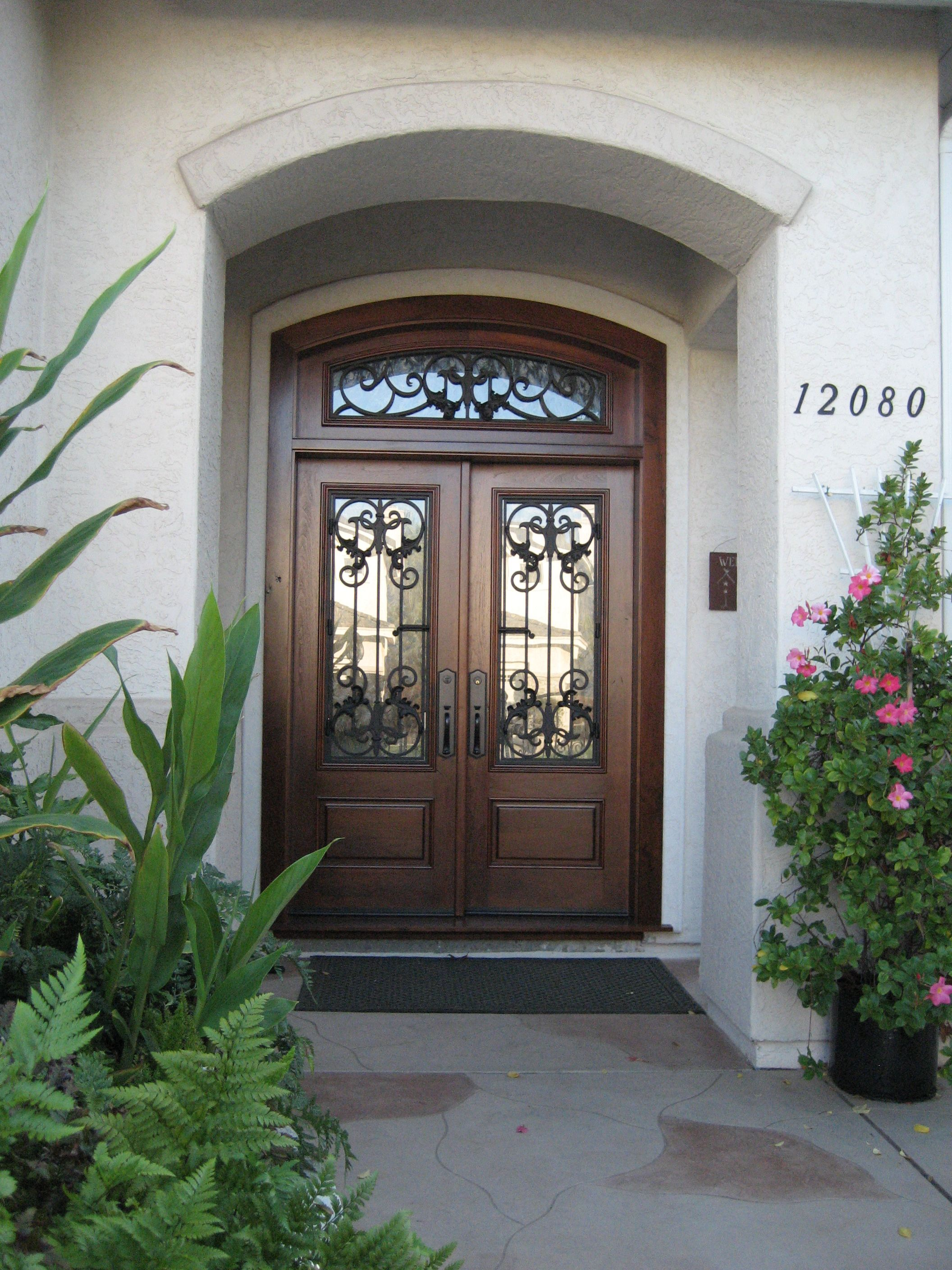 Custom Wood Entry Door By Grand Entrances In San Diego Ca Wood And