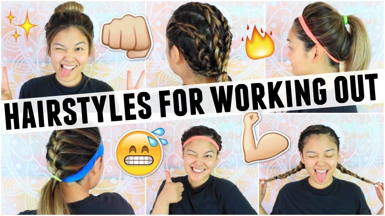 Easy hairstyles for working outgym class jaaackjack