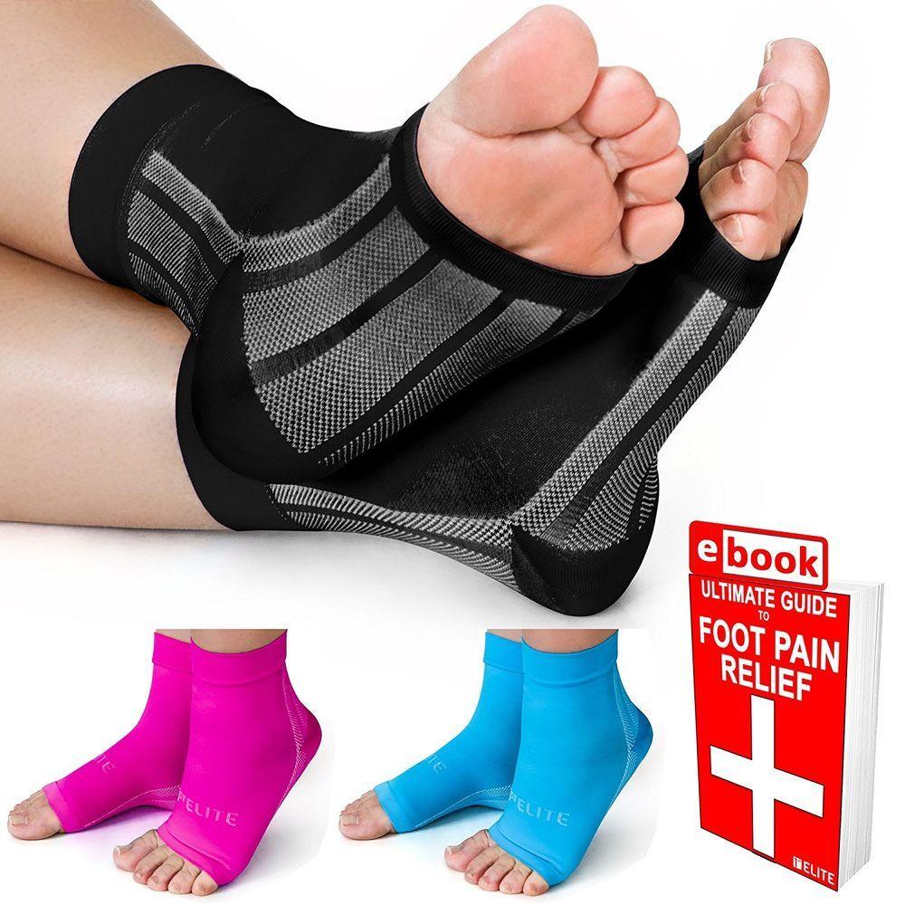 d533cb0472 Plantar Fasciitis Compression Socks / Ankle Brace by 1st Elite- Pain  Relief... #1stElite